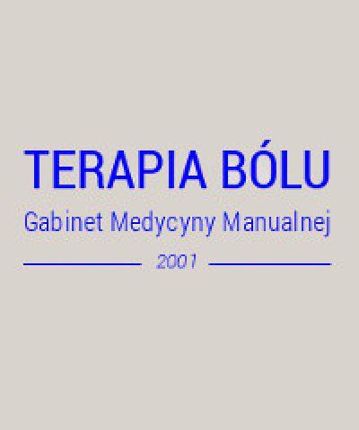 """Gabinet Medycyny Manualnej – """"Terapia Bólu"""" Jolanta Szyszło"""